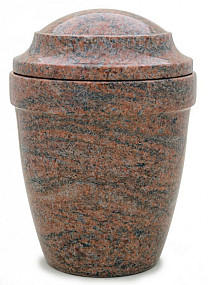 Urn graniet Multi colour red MAUR11mcr